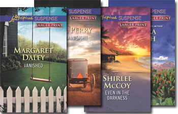 Love Inspired Suspense Classics in Larger Print