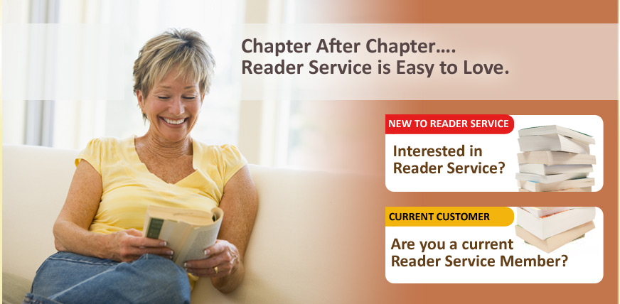 Chapter after chapter...Reader Services is easy to love.